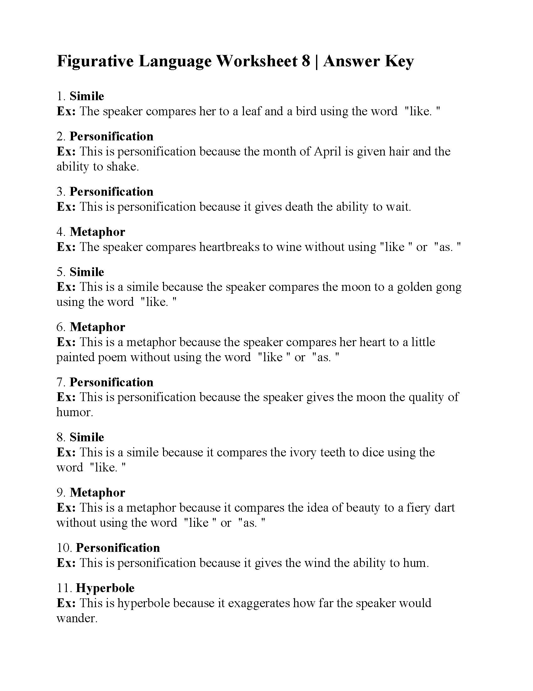 likewise figures of sch worksheet – tattoocollection club likewise Worksheets Figurative Language Printable Simile Grade 5 And Metaphor further  likewise Figurative Language Worksheet 8   Answers as well Identifying Figurative Language 1 Grade Worksheet Worksheets Three further Figurative Language Worksheets 6th Grade Arts Pdf as well Figurative Language Worksheets   Simile Worksheets further  furthermore 8th Grade Figurative Language Worksheets Worksheet Answers Pictures in addition Figurative and Literal Language Worksheet   Lesson Pla    Places together with Figurative Language Unit  6 Types of Figurative Language Worksheets besides Figurative Language Worksheets Grade 5 Figurative Language What Is additionally figurative language worksheets grade 6 furthermore General Reading  prehension Worksheets Activities Queens Birthday additionally Printable Figurative Language Worksheets   Printable Pages. on figurative language worksheets grade 6