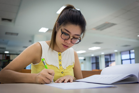Term Paper Essay This Is An Image Of A Young Woman Writing An Essay She Is In A Narrative Essay Topics For High School Students also Romeo And Juliet Essay Thesis  Persuasive Essay And Speech Topics  Ereading Worksheets Argumentative Essay Sample High School
