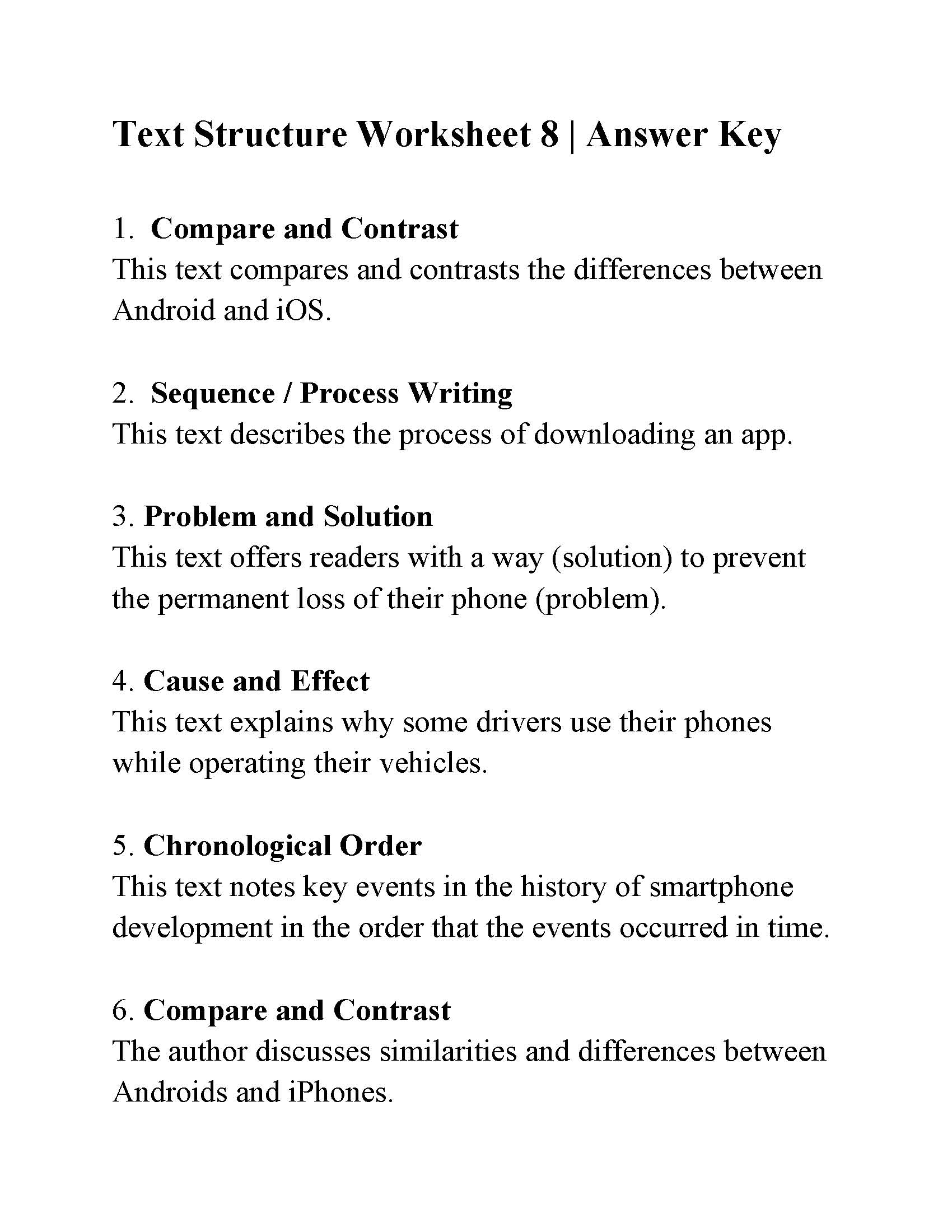 furthermore  as well Identifying Text Structure Worksheets Collection Of Text Structure as well Text Structure Worksheet 8   Answers likewise Atomic Structure Worksheet Answers Chemistry   Lostranquillos additionally English Worksheets For Primary 2 Worksheet Pdf Year Resources also Text Structure Worksheets Grade Identifying Worksheet Answers 1 For as well  likewise  as well  in addition  additionally Identifying text structure 2 furthermore Parallel Structure Worksheets   Identifying Correct Parallel further Main Idea and Text Structure Worksheet 6   Answers also Miladys Cepero Perez Digging Deeper into Text Structure Final as well Non Fiction Text Structures Chart. on identifying text structure worksheet answers