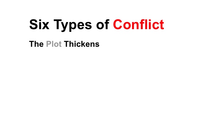 This is a preview image of Types of Conflict Lesson 1. Click on it to enlarge it or view the source file.