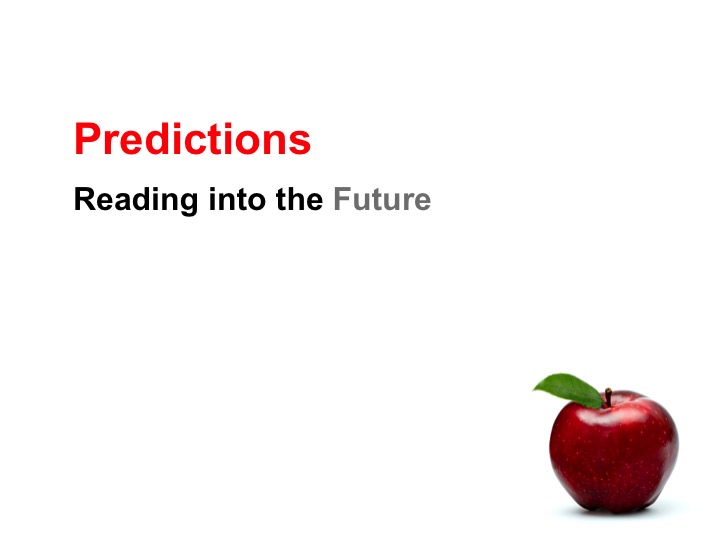 This is a preview image of Making Predictions Lesson 1. Click on it to enlarge it or view the source file.