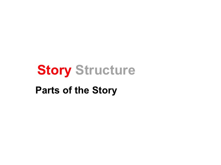 This is a preview image of Story Structure Lesson 2. Click on it to enlarge it or view the source file.